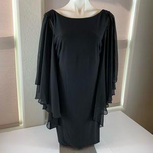 JS Boutique New York Black Dress Size 12